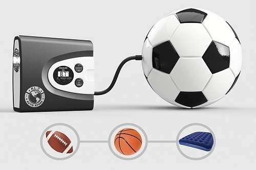 Inflating Sport Balls With P.I. Auto Store Premium Digital Tire Inflator