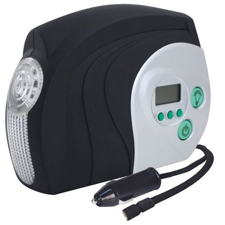 Slime 40022 Digital Tire Inflator On White Background