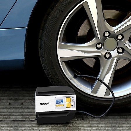Pumping Tire With Tire Inflator