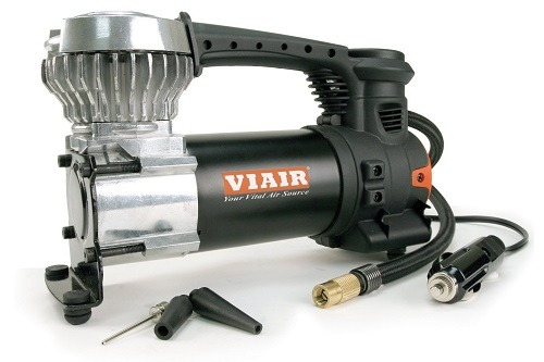 VIAIR 85P Portable Air Compressor On White Background