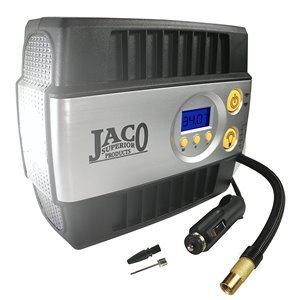 JACO SmartPro Digital Tire Inflator Pump – Premium 12V Portable Air Compressor – 100 Psi
