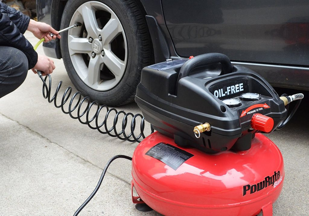 How To Put Air In Car Tires >> Tire Air Compressor For Car