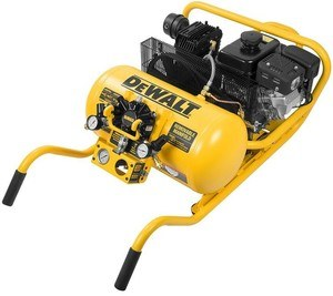 dewalt subaru wheelbarrow gas air compressor
