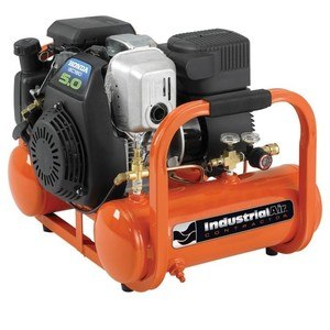 industrial air compressor with honda engine
